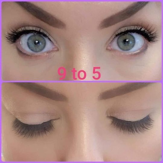 9 to 5 lashes