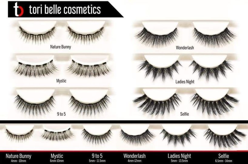 Lashes styles