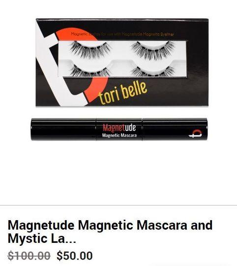 Magnetic Mascara + lashes