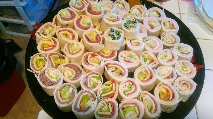 Rolls for the guests