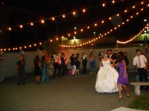 train at wedding at 511 S. Palafox