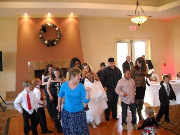 Wedding reception at Scenic Hills Country Club