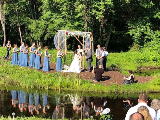 Ceremony on the river
