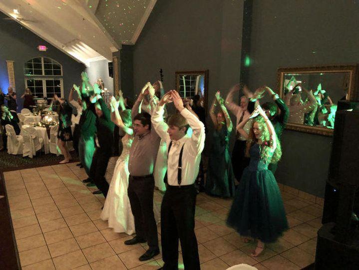 YMCA line dance