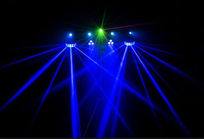 3VP light show