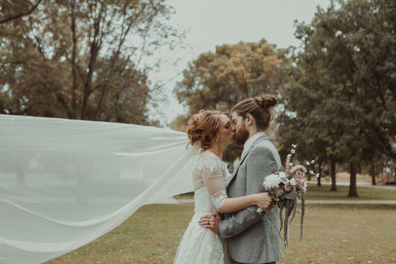 Ushers Ferry wedding