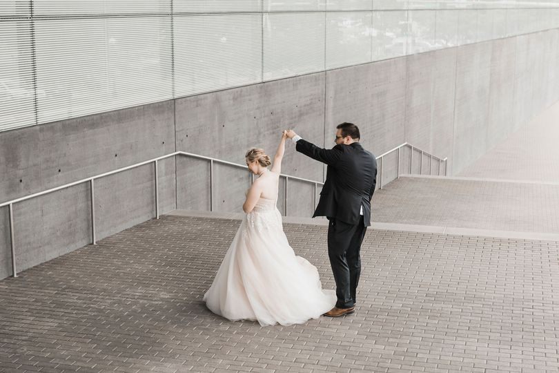 Figge Art Museum wedding