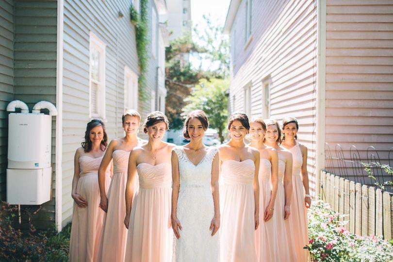 Brooklyn Arts Center Bridemaids | Wilmington, NC