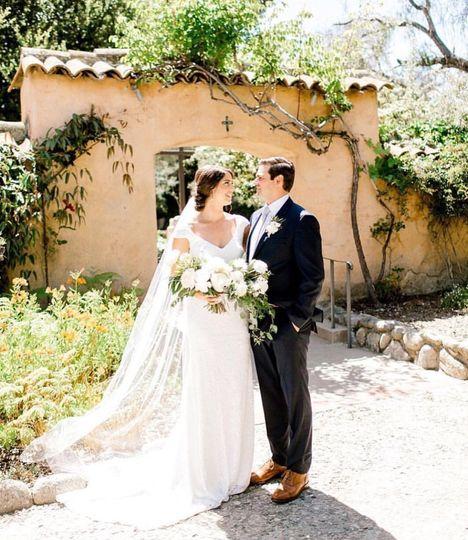 Carmel Mission Wedding