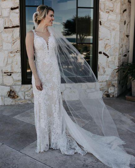Beautiful Bride in Pebble Beac
