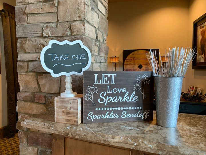 Let love sparkle