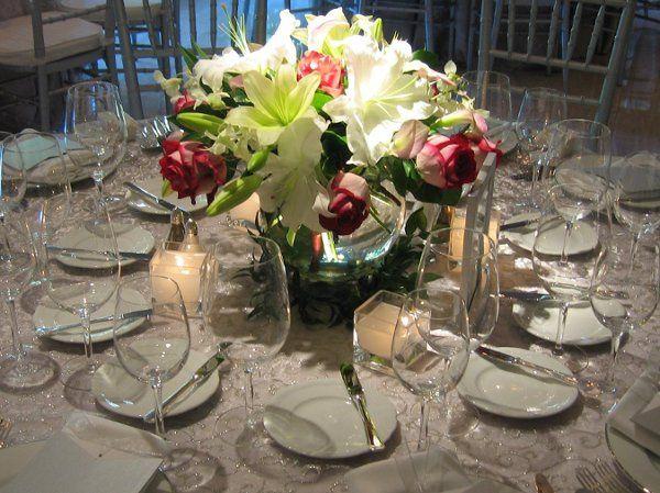Tmx 1238180397415 Floralcenterpieceoncrystaloverlay Dallas, TX wedding florist