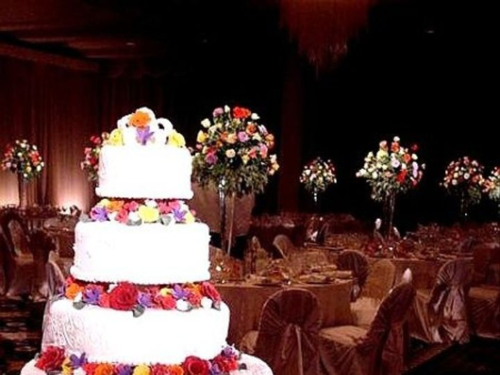 Tmx 1238188331937 CakeandGuestTables Dallas, TX wedding florist