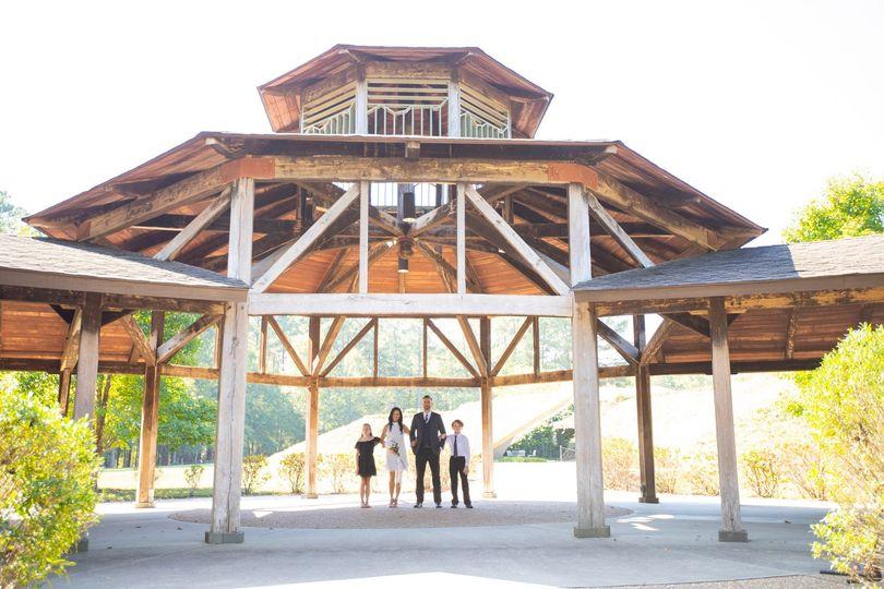Education Center, Outside