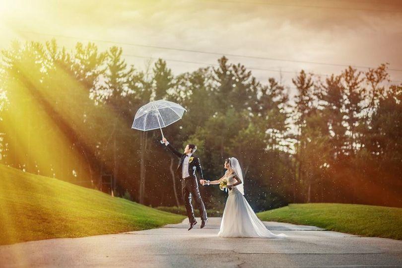 Couple sunshine