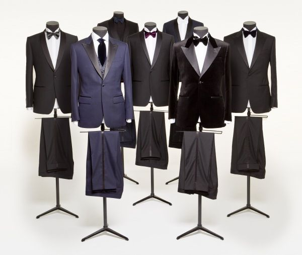 Custom wedding attire