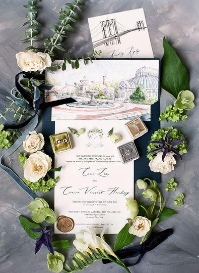 Invitation Envelope Insert