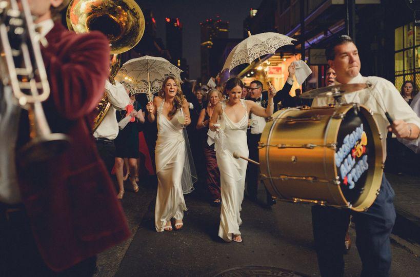 Signature New Orleans weddings