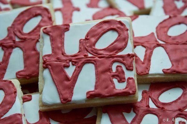 Love Park cookie