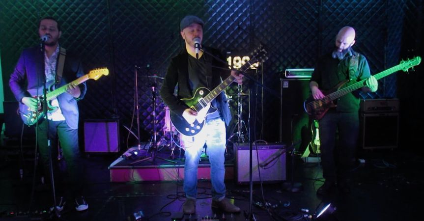 Performing onstage