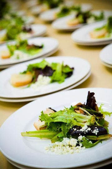 Pacific Harvest Catering.