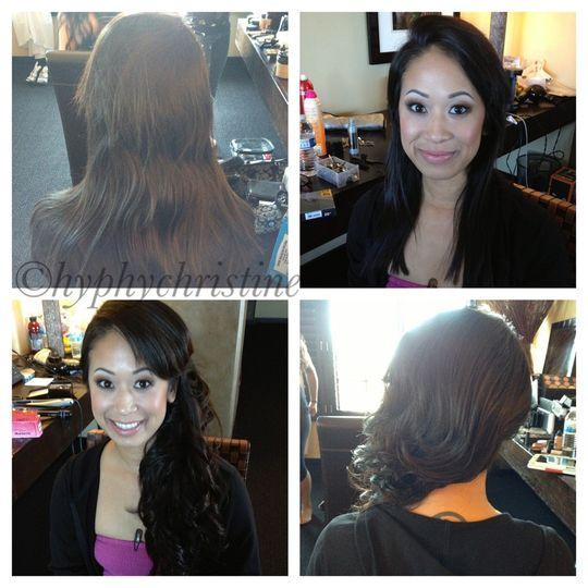 Hair by Christine Garcia