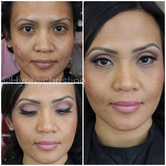 Makeup by Christine Garcia