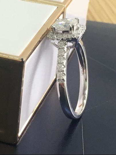 Doveggs engagement ring
