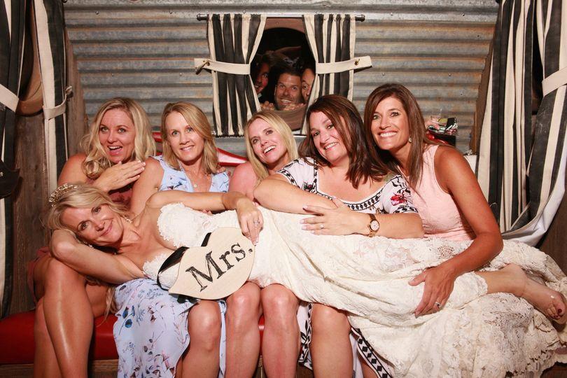 Photo Bombing the Bride