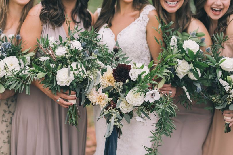 Bridesmaids at Loblolly Rise