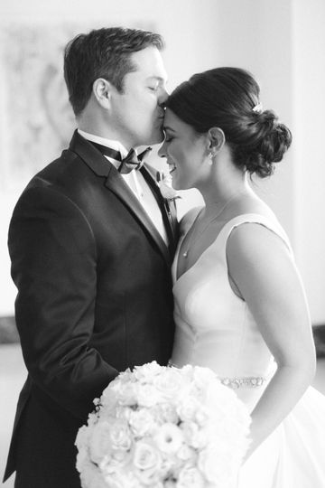 Sweet moment between the couple