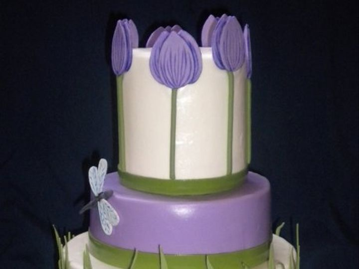 Tmx 1317073142818 Tulips Houston wedding cake