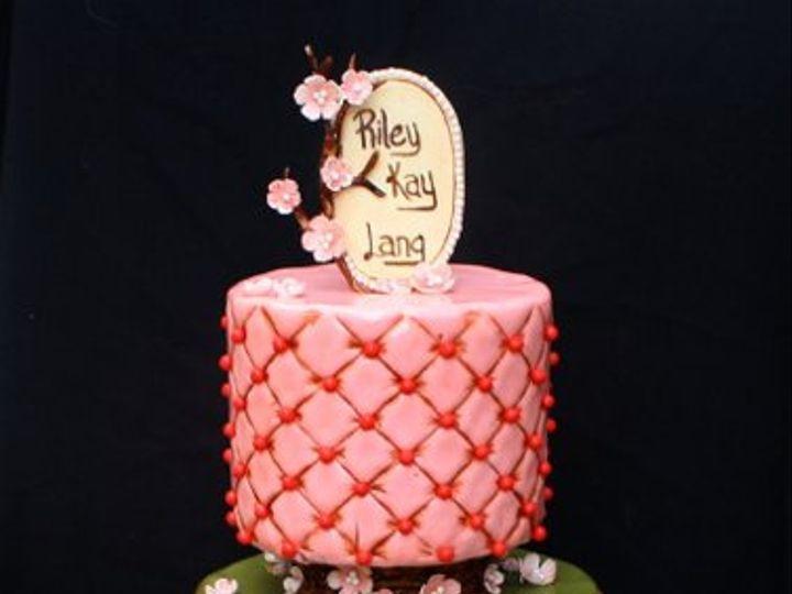 Tmx 1317073338405 Cherryblossoms1 Houston wedding cake