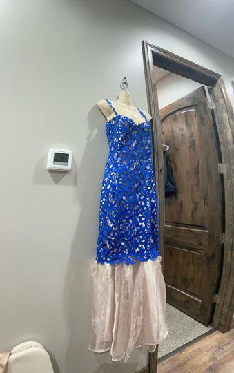 Custom special occasion dress