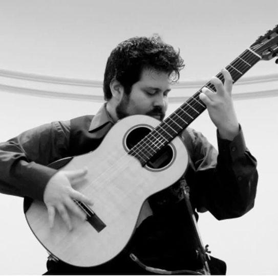 Nick with his chapman guitar