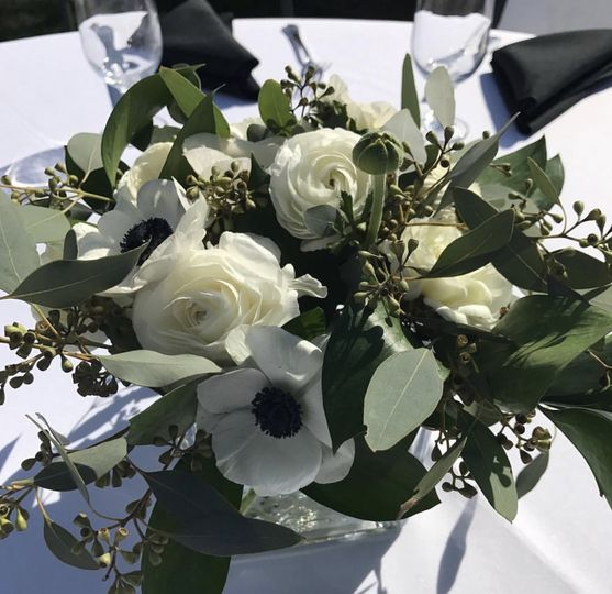 Spring anemone bridal shower