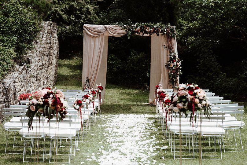 Huppa Jewish wedding in Florence