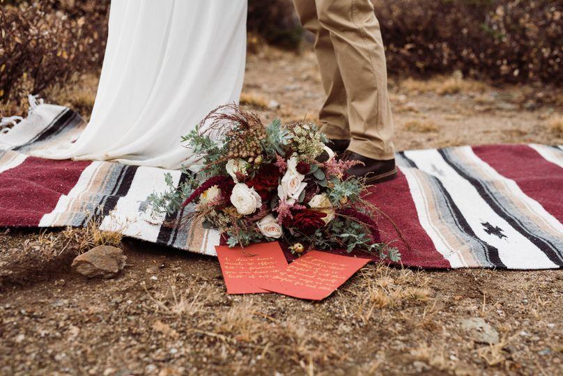Fall elopement