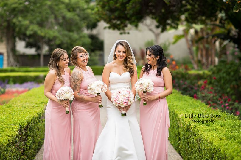 Photographer: Little Blue Bow Photography Venue: Coronado Community Center Floral:  Flora Glamor...