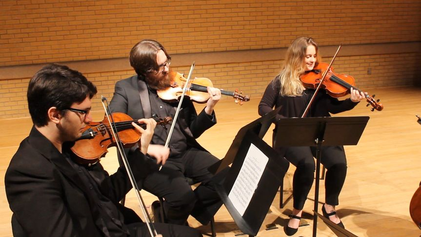 Trio performs in concert