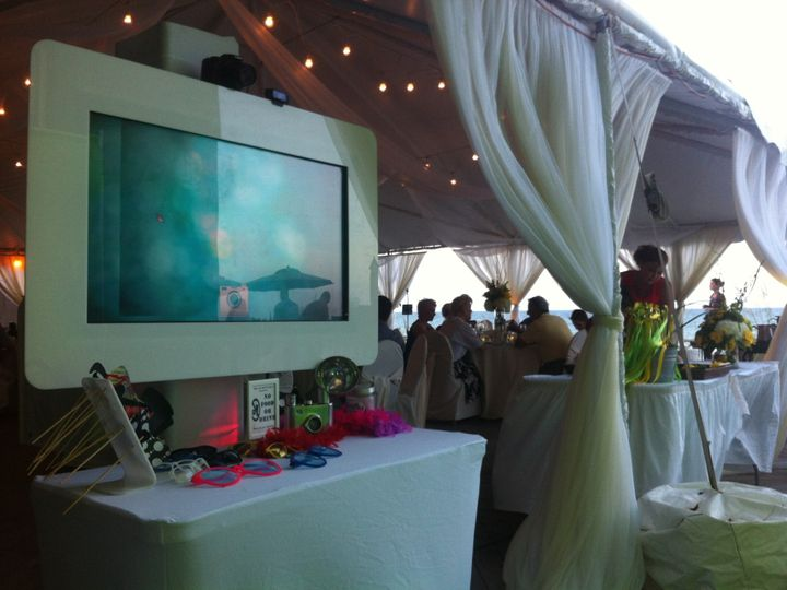 Tmx 1416844420155 Firefly Photo Booth At Beach Wedding Orlando, Florida wedding rental