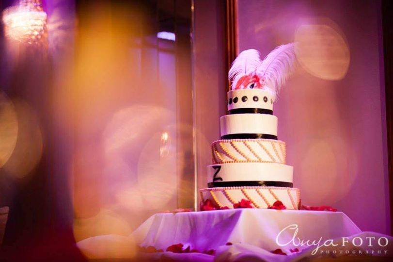 Wedding cake magnificence
