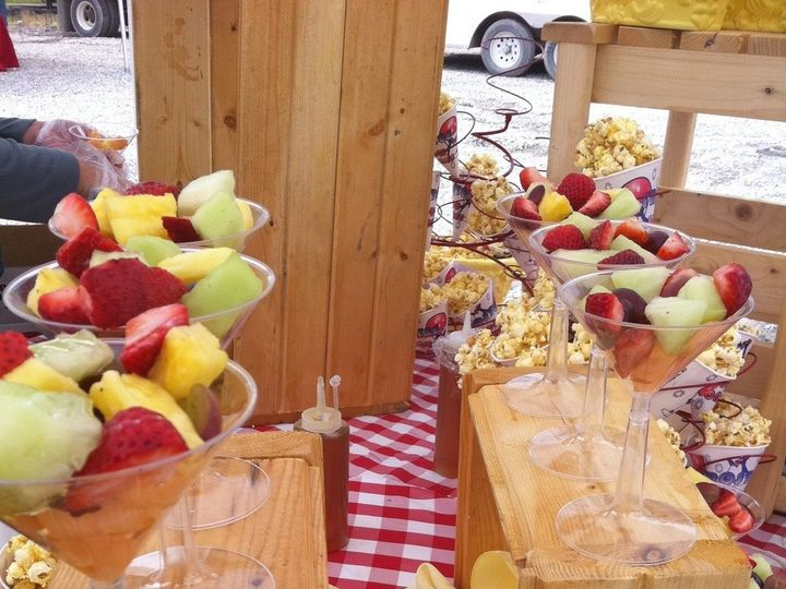 Tmx 1379955324092 4 Star Check Fruit Redfox wedding catering