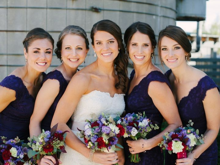 Tmx 1421450436797 Claire Bridal Party 2014 Madison, WI wedding beauty