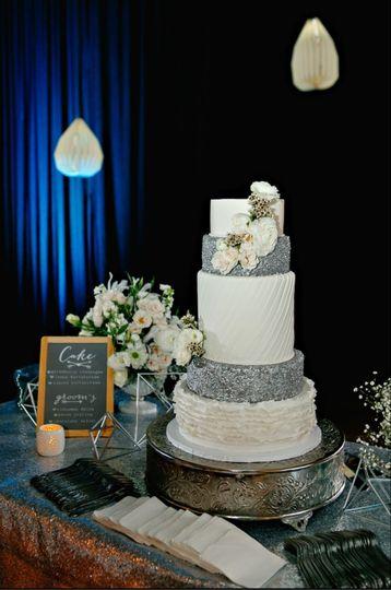 Floral, Cake Floral, Lighting, Decor, Signage, Sequin Linens