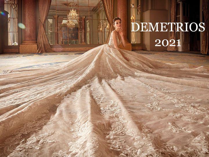 Tmx Demetrios 2021 51 645315 160771731281738 Bayside, NY wedding dress