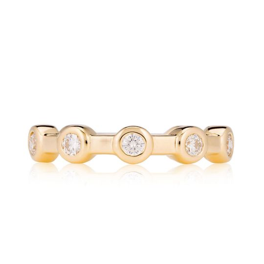 d8c64834a8cb5010 Constellation Ring in Yellow Gold