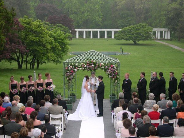 Outside ceremony in the South Garden