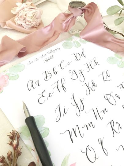 Pointed Pen Calligraphy Lesson