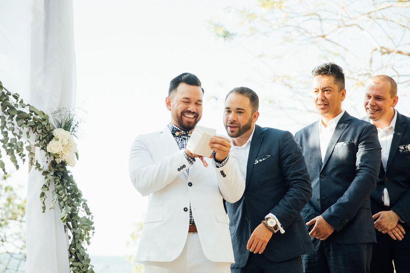 Surprise Wedding Note